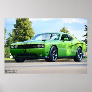 Desafiador SRT8 392 de Dodge Posters