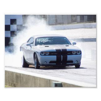 Desafiador SRT de Dodge Impresion Fotografica