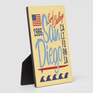 Desafío 1986 de la resaca de San Diego Placa De Madera