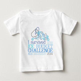 Desafío 2014 del cubo de hielo del ALS de Playera De Bebé