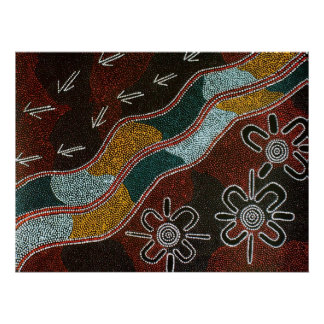 Desafío aborigen póster