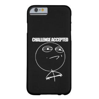 Desafío aceptado funda para iPhone 6 barely there