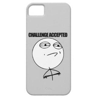 Desafío aceptado iPhone 5 funda