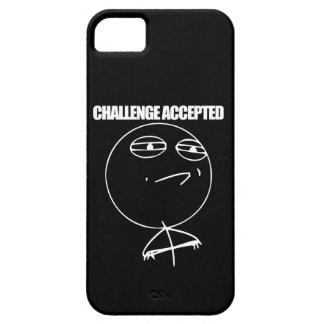 Desafío aceptado funda para iPhone 5 barely there