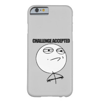 Desafío aceptado funda de iPhone 6 barely there