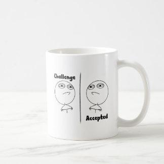 ¡Desafío aceptado! Taza De Café