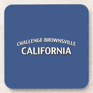 Desafío-Brownsville California Posavasos De Bebida