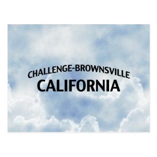 Desafío-Brownsville California Tarjetas Postales