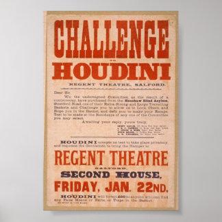 Desafío de Houdini Poster