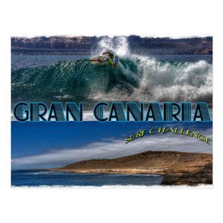 Desafío de la resaca de Gran Canaria Tarjeta Postal