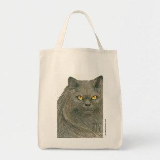 Desafío del gato de Melissa Benson Bolsa Tela Para La Compra