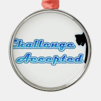 Desafío divertido aceptado ornamentos de reyes magos