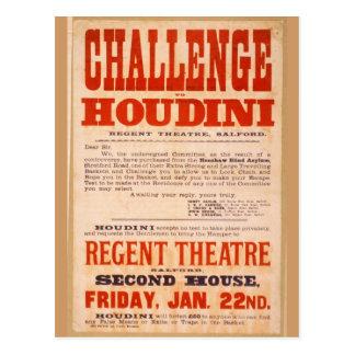 Desafío Houdini Postales