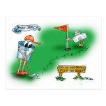 Desalojo urgente abierto - golf postal