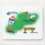Desalojo urgente abierto - golf tapete de ratones