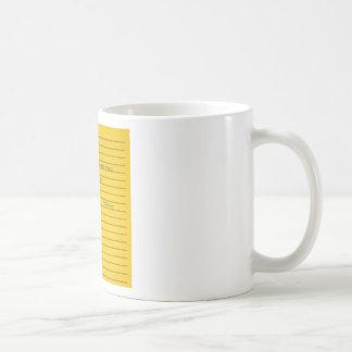 desalojo urgente tazas de café