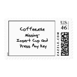 Desaparecidos de Coffee exe - humor del empollón d