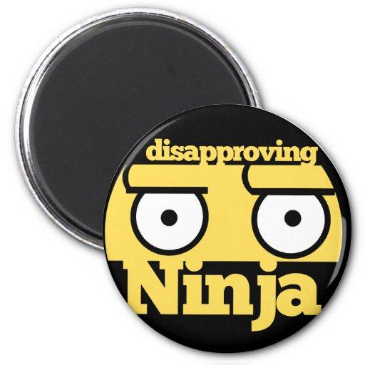 Desaprobación Ninja Imán De Frigorífico