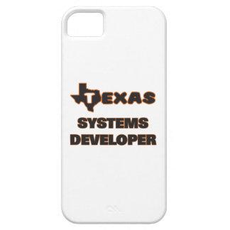 Desarrollador de los sistemas de Tejas iPhone 5 Carcasas