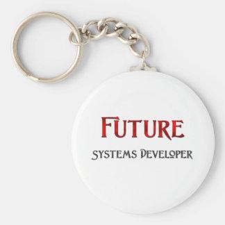 Desarrollador de los sistemas futuros llavero