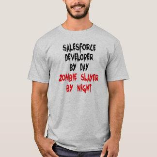 Desarrollador de Salesforce del asesino del zombi Playera