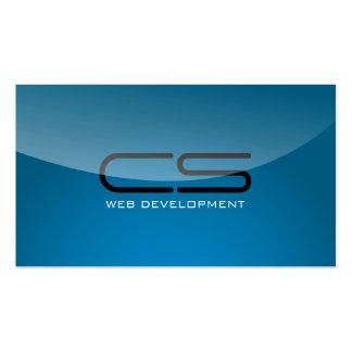 Desarrollador de Web - tarjetas de visita