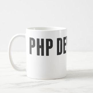 Desarrollador del PHP Taza