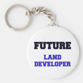 Desarrollador futuro de la tierra llavero