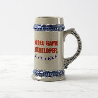 Desarrollador jubilado del videojuego jarra de cerveza