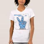 Desarrolladores de Web para la paz… ahora Camisetas