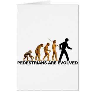 Desarrollan a los peatones tarjeta de felicitación