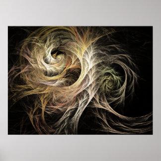 Desarrolle el fractal de la llama posters