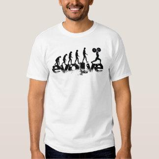 """""""Desarrolle"""" la camiseta de la aptitud Remera"""