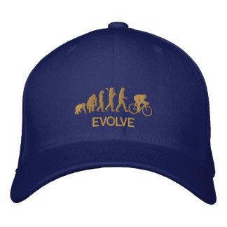 Desarrolle la evolución de la bicicleta de ciclo gorra de beisbol bordada