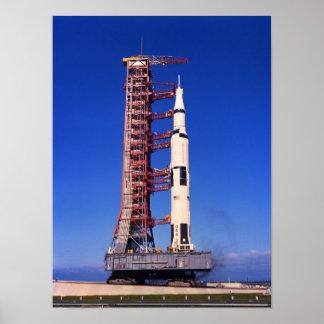 Desarrollo de Apolo 11 Póster