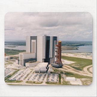 Desarrollo de Apolo 11 Saturn V de la opinión aére Alfombrilla De Raton