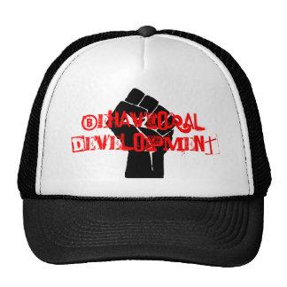 Desarrollo del comportamiento gorras
