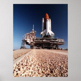 Desarrollo del transbordador espacial Columbia (ST Posters