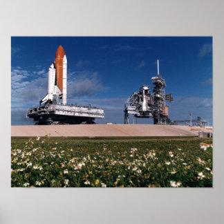 Desarrollo del transbordador espacial Columbia ST Poster