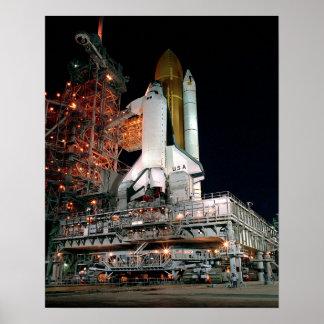 Desarrollo del transbordador espacial impresiones