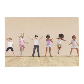 Desarrollo infantil con el aprendizaje de los tapete individual