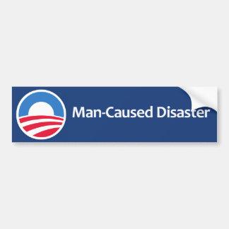 Desastre Hombre-Causado Etiqueta De Parachoque