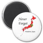 Desastre nuclear de Fukushima, Japón Imán