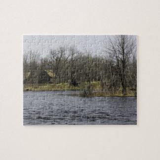 Desatención del río puzzle