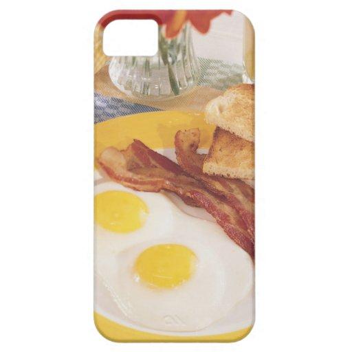 Desayuno 2 iPhone 5 Case-Mate cobertura