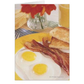 Desayuno 2 tarjetas
