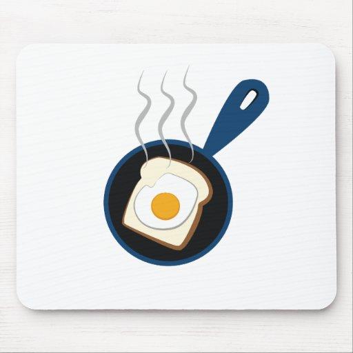 desayuno alfombrilla de ratones