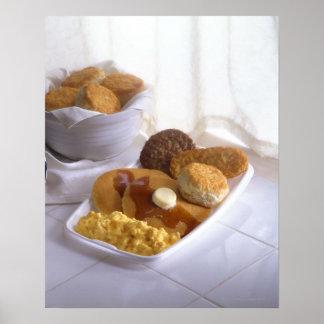 Desayuno combinado poster