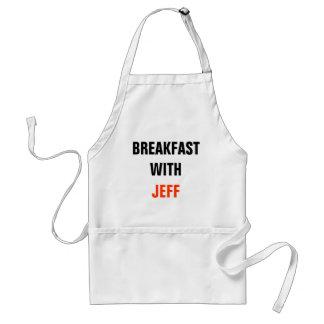 Desayuno con jeff delantal