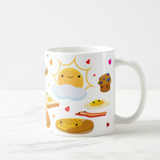 ¡Desayuno de la buena mañana! Taza
